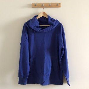 LLBean oversized cowlneck sweatshirt